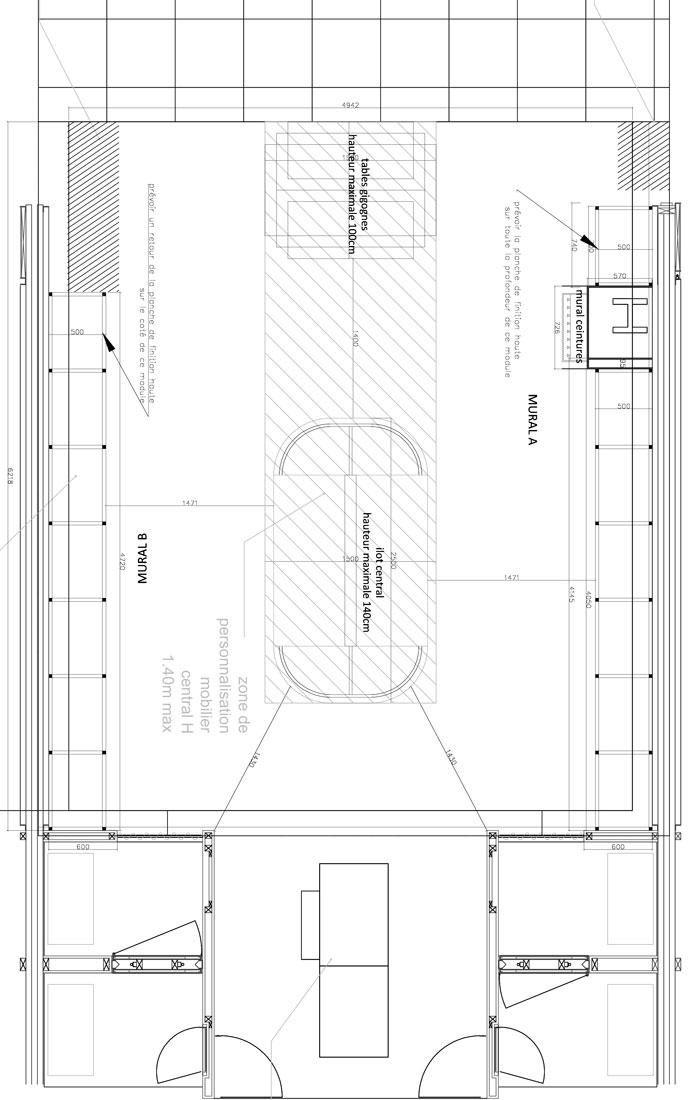 conception de mobilier pour corners chevignon  u2013 ninon le lay